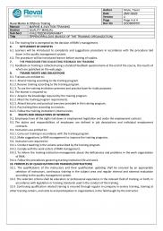 BASICS OF IN-SERVICE TRAINING AND QUALITY ASSURANCE OF TRAINING INSTITUTION PAGE 2