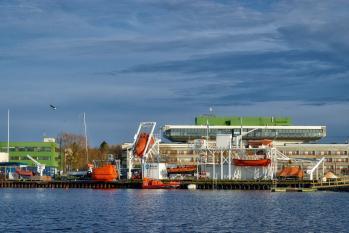 Väliõppekeskus/Outdoor sea survival training facilities