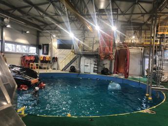 Sisebassein/Indoor pool