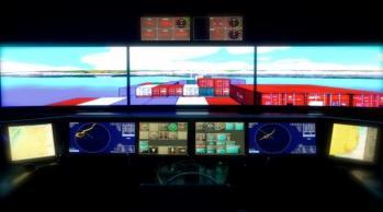 Navigatsioonisilla simulaator/Bridge simulator