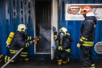 Tulesimulaator/Fire fighting simulator