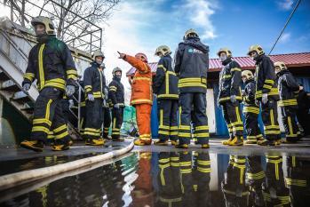 Tulekustutusõppus/Fire training