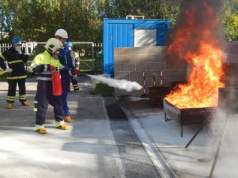 Small fire fighting