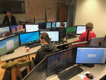 ECDIS simulator