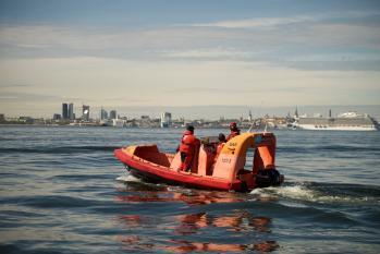 Kiirvalvepaat-Fast rescue Boat