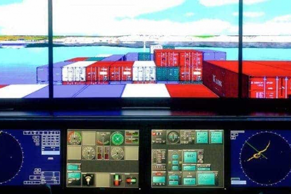STCW 2010 SHIP SIMULATOR, BRIDGE TEAMWORK. LARGE SHIPS HANDLING(COMBINED SIMULATOR TRAINING & DIGITAL DELIVERY)