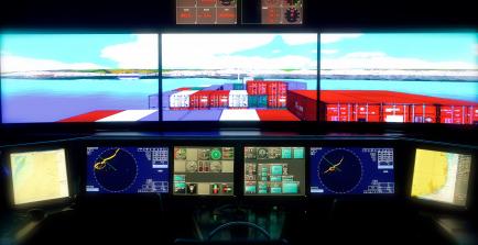 Täiustatud navigatsioonisilla simulaator Revali Merekoolis