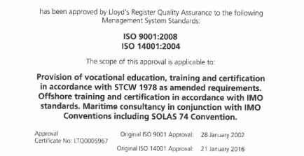 ISO9001 ja ISO14001 kvaliteedisüsteemide audit oli edukas